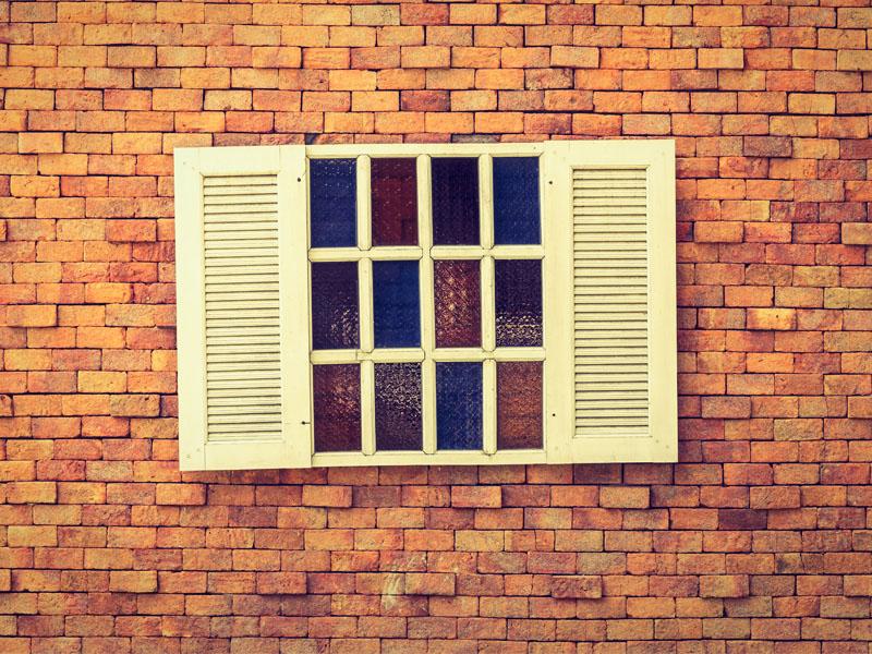 บานหน้าต่างไม้